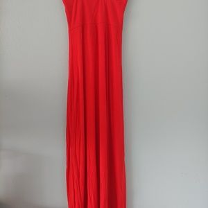 WINDSOR SKIRT OR SUNDRESS Jersey Knit Red, Small